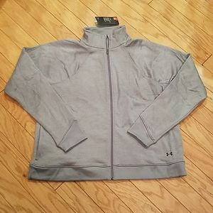 NWT size XXL Under Armour zip up sweatshirt